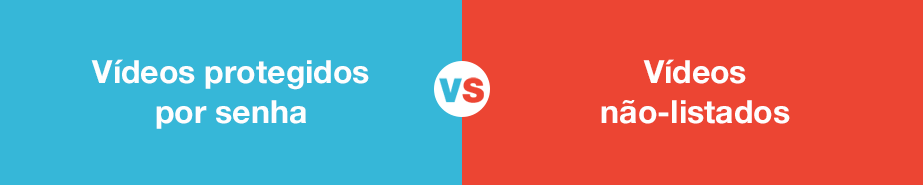 Vimeo x YouTube: Opções de privacidade