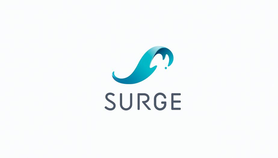 Logo com gradiente